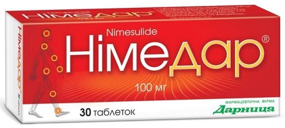 Nimesulidе 100mg 30 Tablets