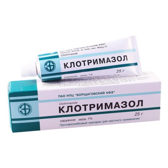 Clotrimazole ointment 25g