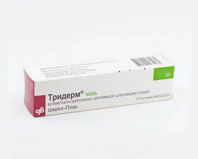 Triderm Ointment 30g