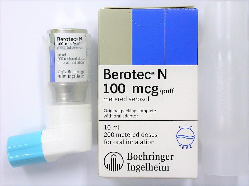 Berotec N 100mcg aerosol Fenoterol