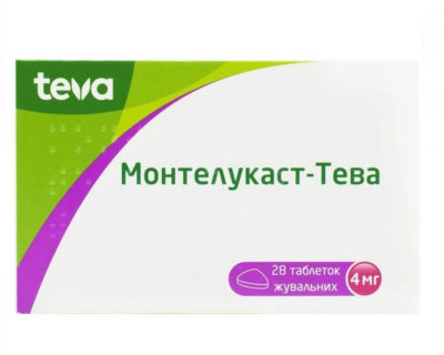 Montelukast-TEVA 10 mg, 28 tabs