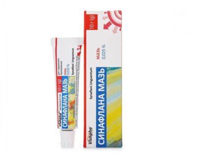 Sinaflan ointment 0,025%,10g Fluocinolone