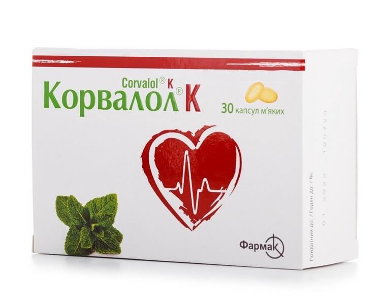 Corvalol 30 capsules