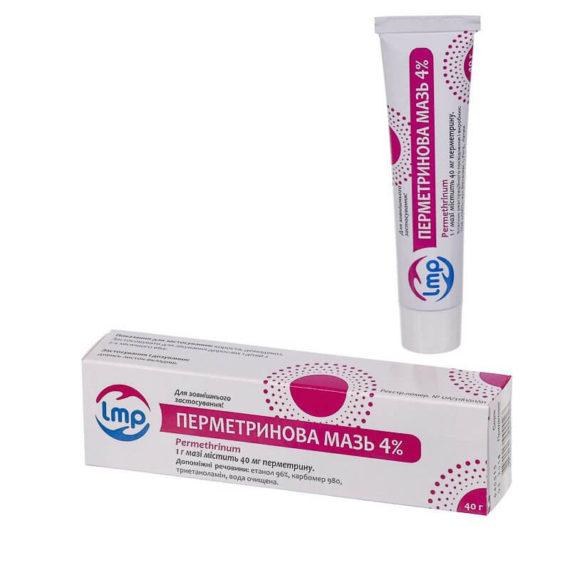 Permethrin ointment 4% 40g